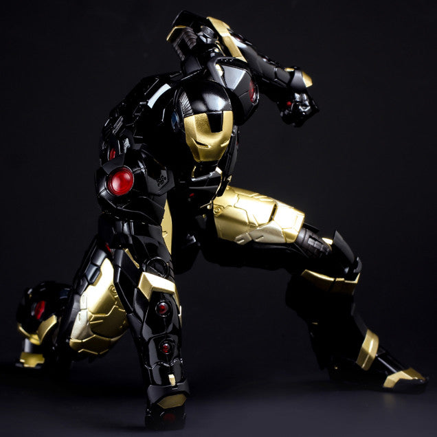 (IN STOCK) Sentinel - Re:Edit - Iron Man #06 Marvel Now! Ver. Black X Gold (Japan Version) - Marvelous Toys - 3
