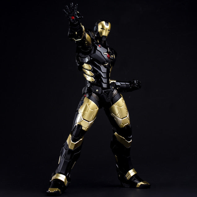 (IN STOCK) Sentinel - Re:Edit - Iron Man #06 Marvel Now! Ver. Black X Gold (Japan Version) - Marvelous Toys - 4