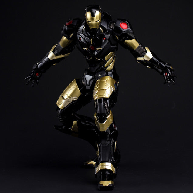(IN STOCK) Sentinel - Re:Edit - Iron Man #06 Marvel Now! Ver. Black X Gold (Japan Version) - Marvelous Toys - 5
