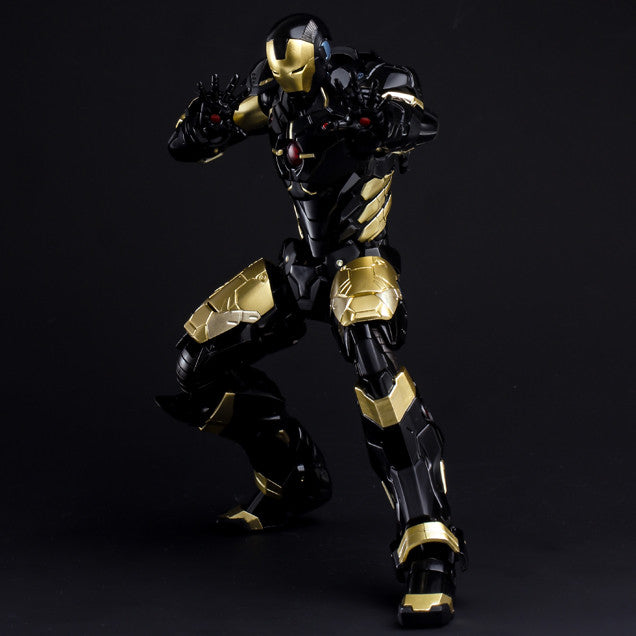 (IN STOCK) Sentinel - Re:Edit - Iron Man #06 Marvel Now! Ver. Black X Gold (Japan Version) - Marvelous Toys - 6