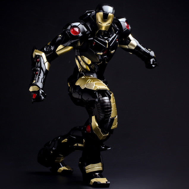(IN STOCK) Sentinel - Re:Edit - Iron Man #06 Marvel Now! Ver. Black X Gold (Japan Version) - Marvelous Toys - 7