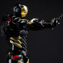 (IN STOCK) Sentinel - Re:Edit - Iron Man #06 Marvel Now! Ver. Black X Gold (Japan Version) - Marvelous Toys - 9