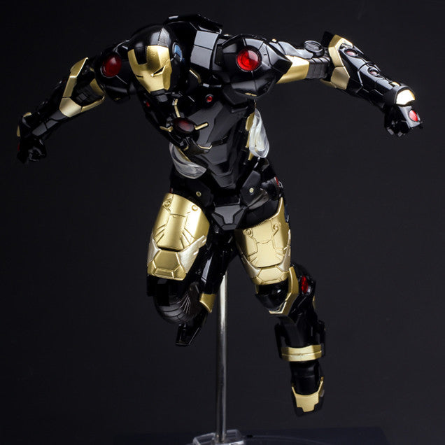 (IN STOCK) Sentinel - Re:Edit - Iron Man #06 Marvel Now! Ver. Black X Gold (Japan Version) - Marvelous Toys - 10