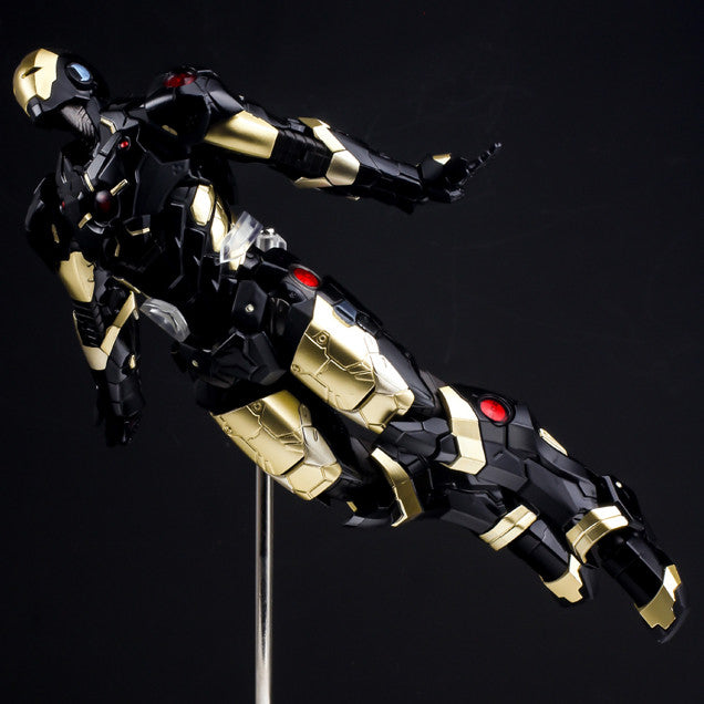(IN STOCK) Sentinel - Re:Edit - Iron Man #06 Marvel Now! Ver. Black X Gold (Japan Version) - Marvelous Toys - 11