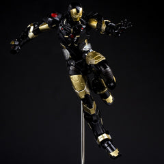 (IN STOCK) Sentinel - Re:Edit - Iron Man #06 Marvel Now! Ver. Black X Gold (Japan Version) - Marvelous Toys - 12
