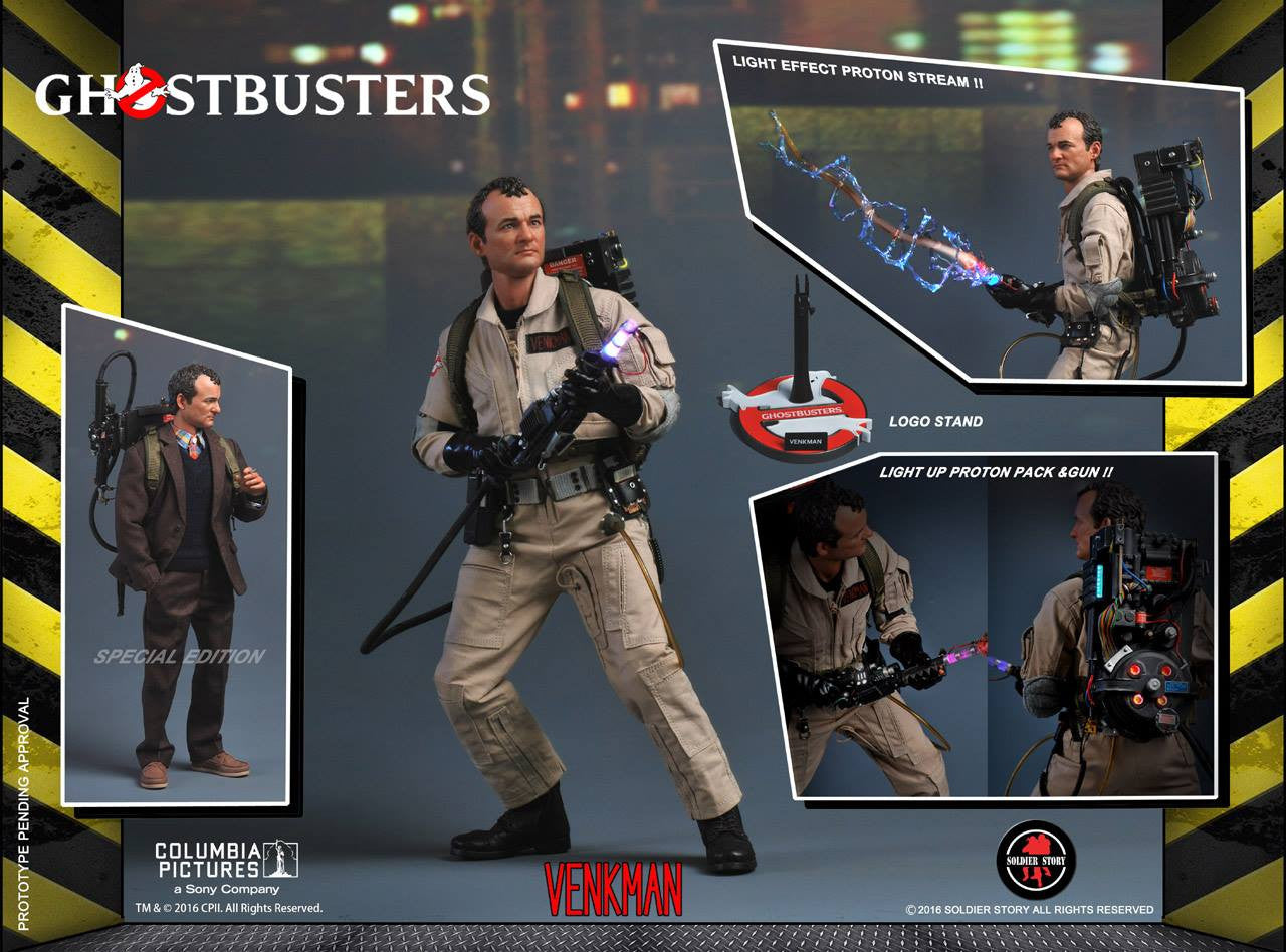 Soldier Story - GBI001 - Ghostbusters - Dr. Peter Venkman (Special Edition) - Marvelous Toys - 1