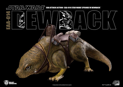 Egg Attack Action - EAA-014 - Star Wars: A New Hope - Dewback - Marvelous Toys - 1