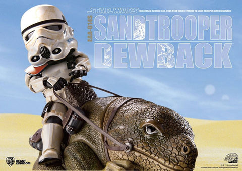 Egg Attack Action - EAA-014S - Star Wars: A New Hope - Dewback & Imperial Sandtrooper - Marvelous Toys - 2