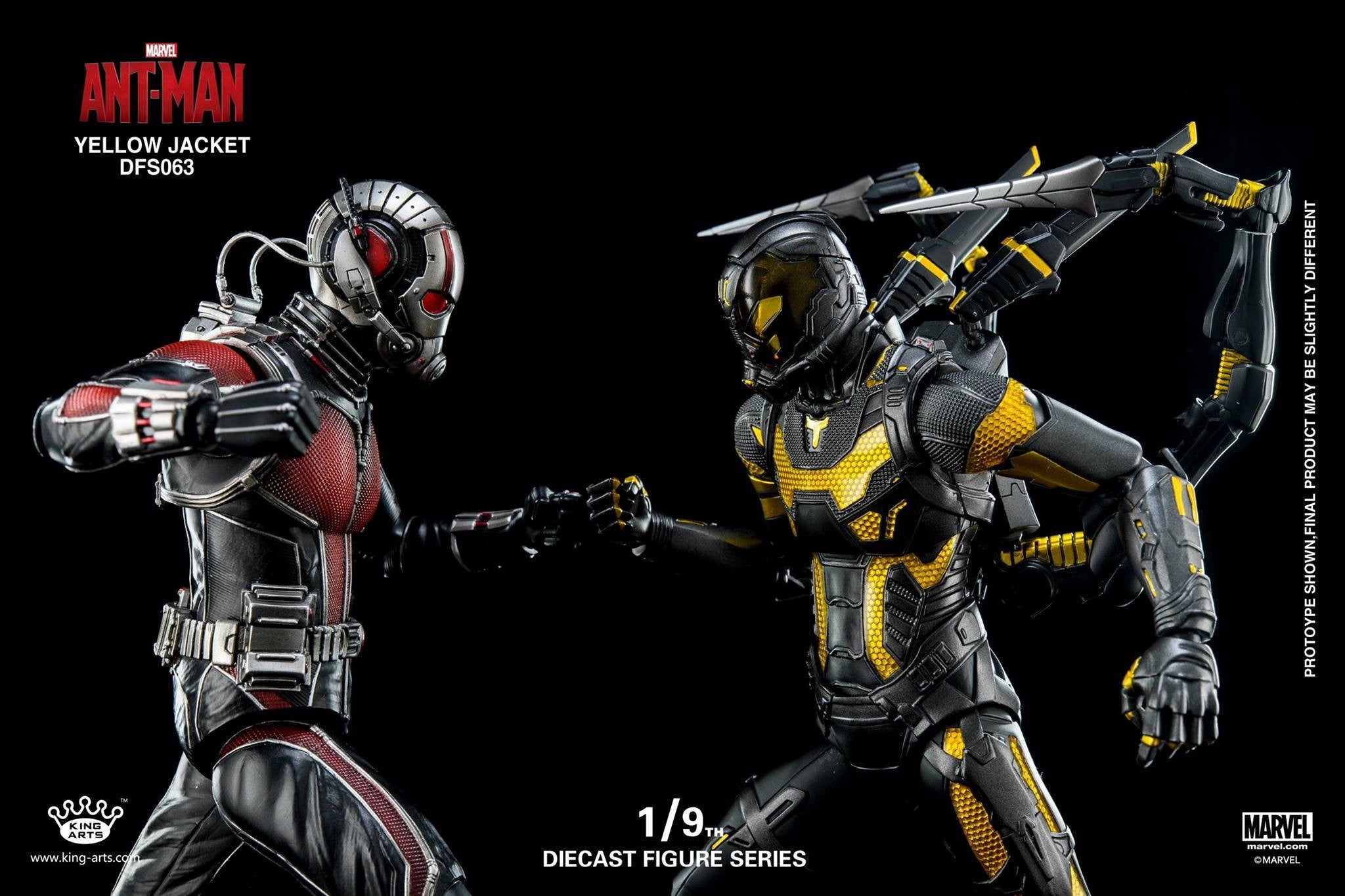 King Arts - DFS063 - Ant-Man - Yellow Jacket - Marvelous Toys - 10