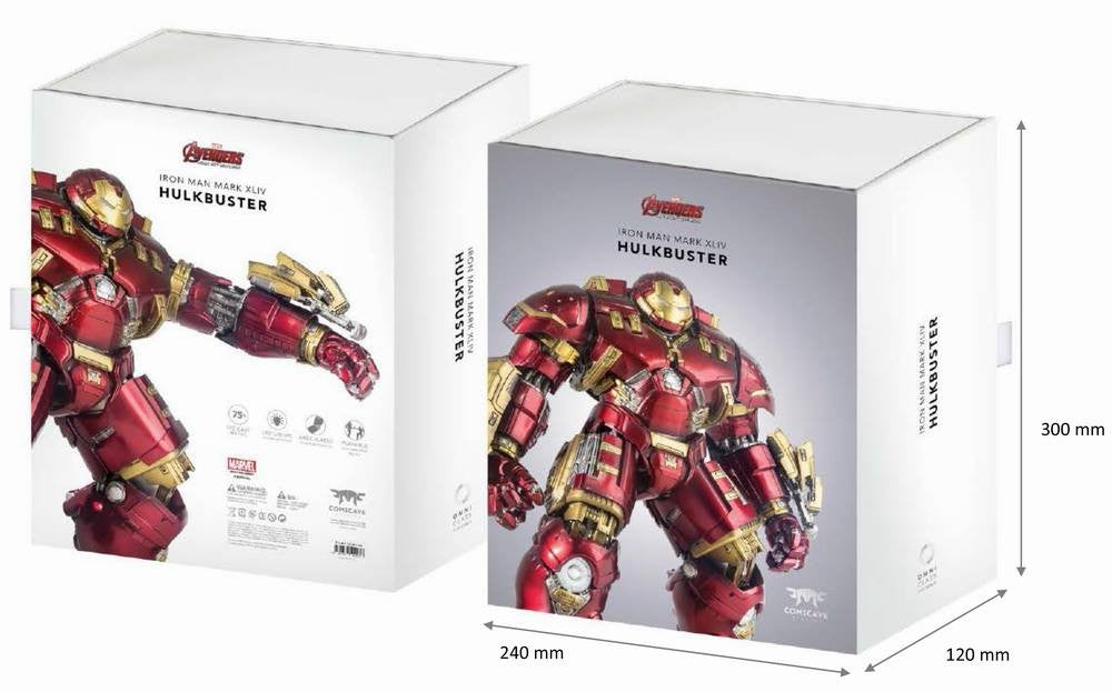 Comicave Studios - Omni Class: 1/12 Scale Iron Man Mark 44 (XLIV) (Hulkbuster) - Marvelous Toys - 6