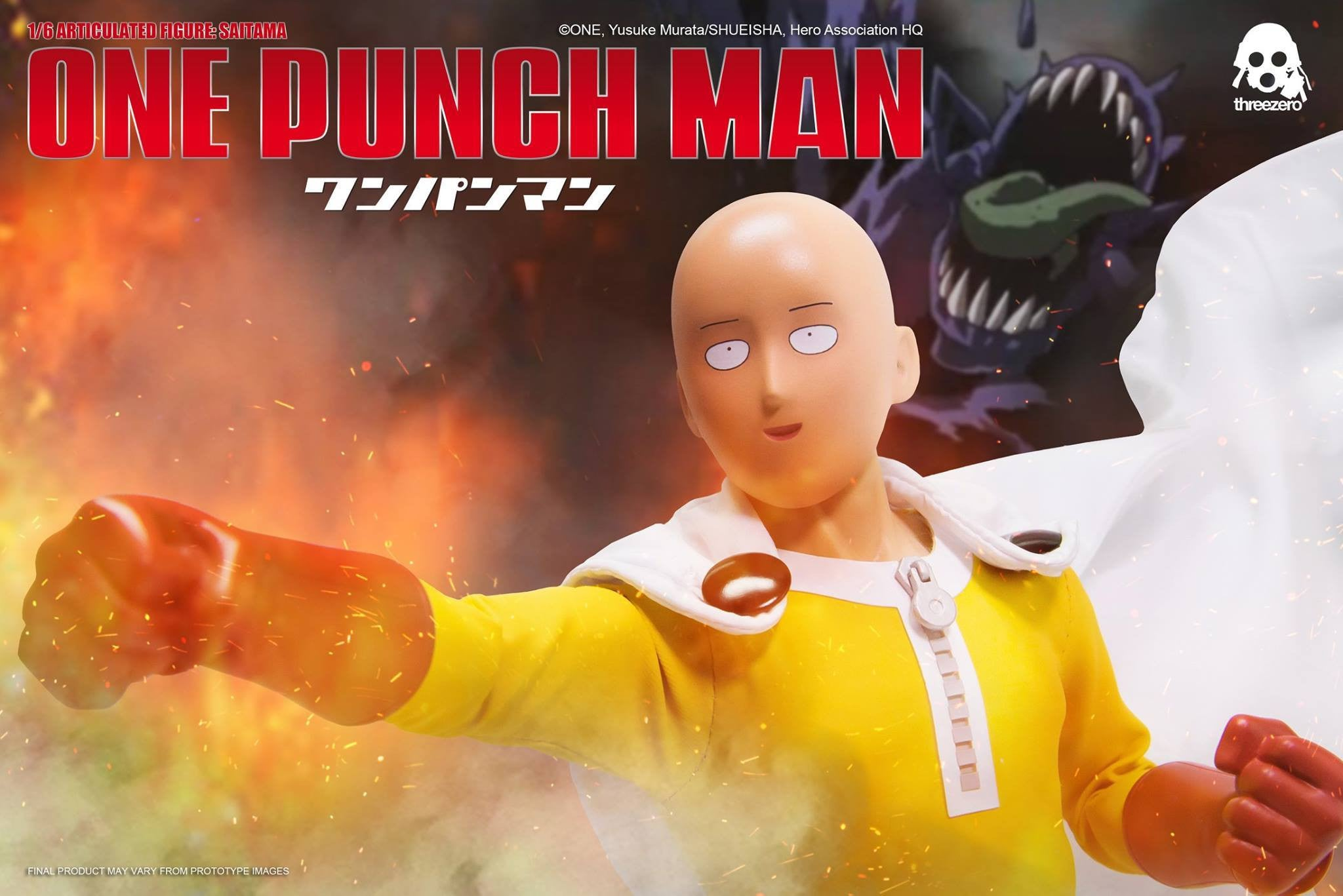 ThreeZero - One-Punch Man - Saitama - Marvelous Toys - 9