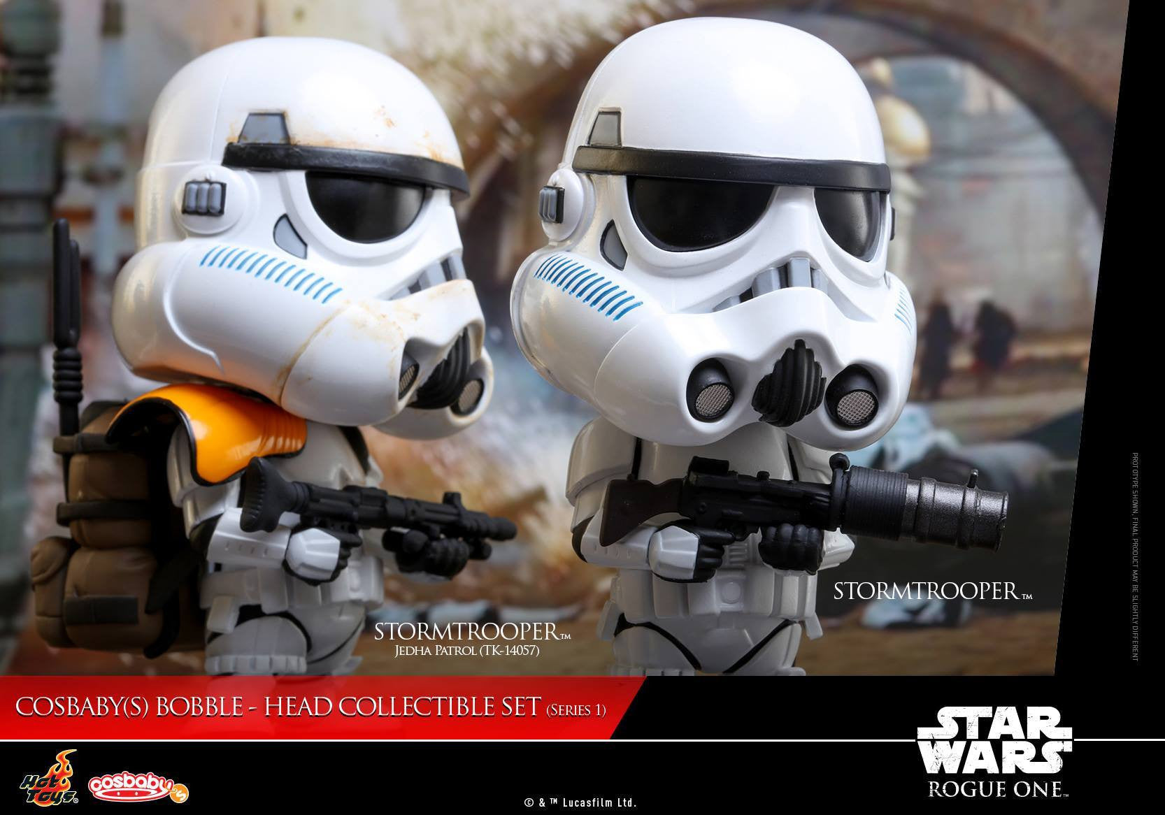 (IN STOCK) Hot Toys - COSB335 - Rogue One: A Star Wars Story - Cosbaby Bobble-Head (Series 1) Set of 6 - Marvelous Toys - 21