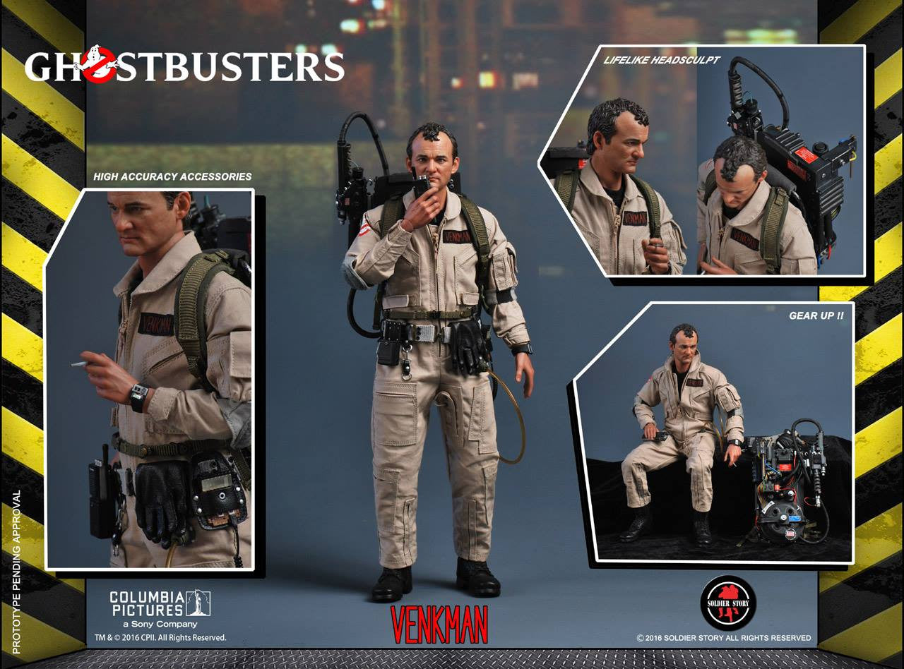 Soldier Story - GBI001 - Ghostbusters - Dr. Peter Venkman (Special Edition) - Marvelous Toys - 2