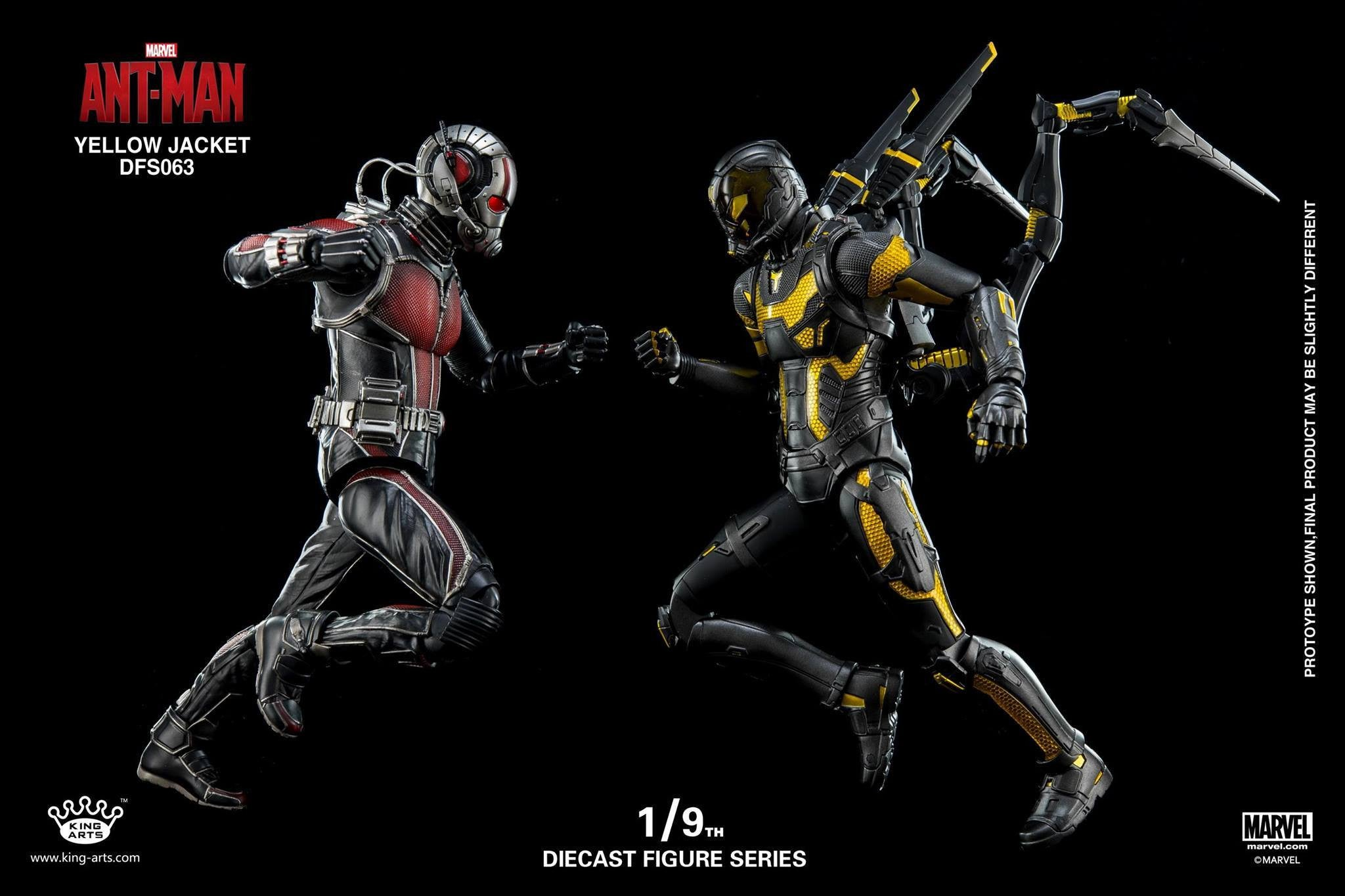 King Arts - DFS063 - Ant-Man - Yellow Jacket - Marvelous Toys - 11
