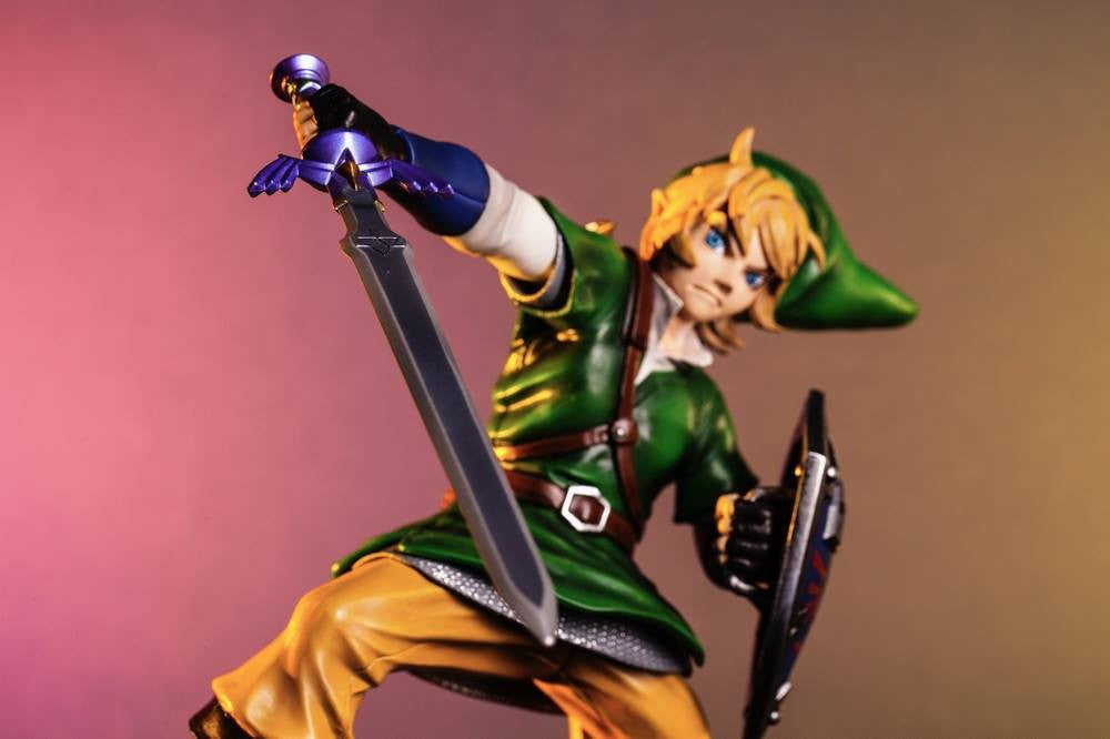 First 4 Figures – The Legend of Zelda: Skyward Sword - Skyward Sword Link Vinyl Statue - Marvelous Toys - 6