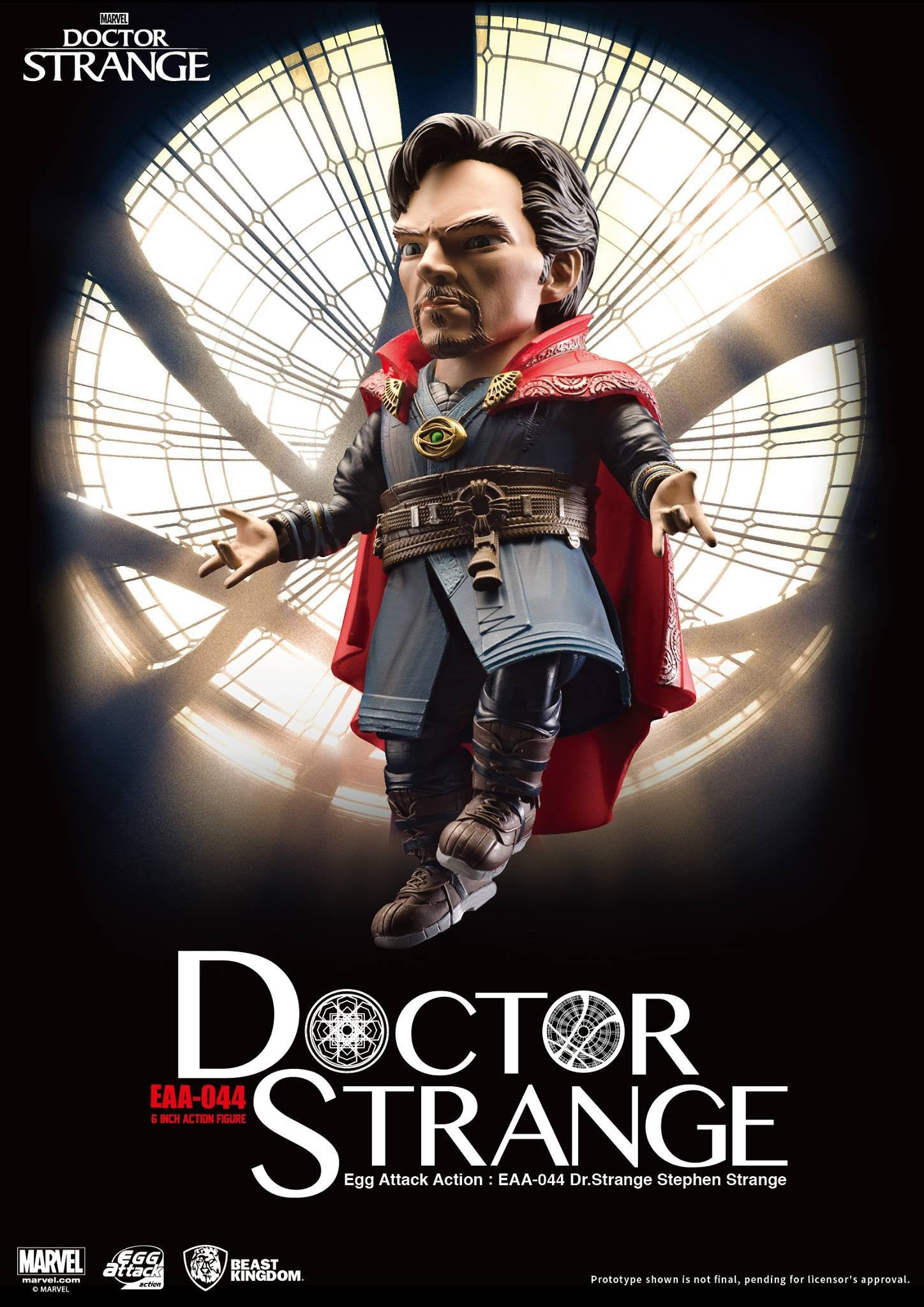 Egg Attack Action - EAA-044 - Doctor Strange - Stephen Strange - Marvelous Toys - 3