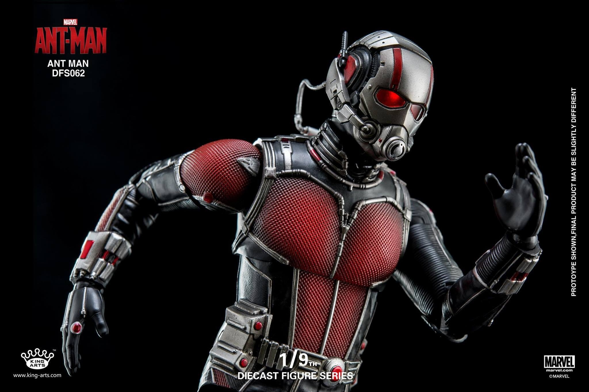 King Arts - DFS062 - Ant-Man - Ant-Man - Marvelous Toys - 11
