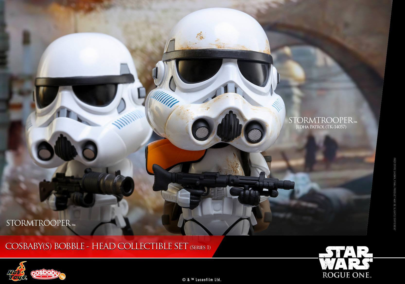 (IN STOCK) Hot Toys - COSB335 - Rogue One: A Star Wars Story - Cosbaby Bobble-Head (Series 1) Set of 6 - Marvelous Toys - 22