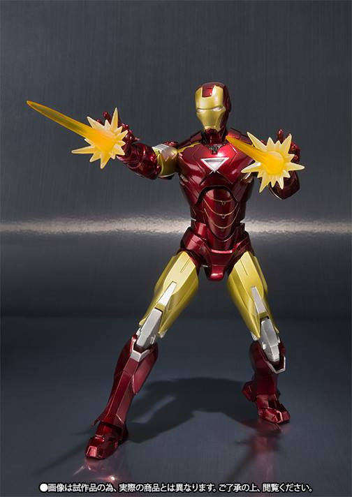 S.H.Figuarts - Iron Man - Iron Man Mark VI (6) (TamashiiWeb Exclusive) - Marvelous Toys - 3