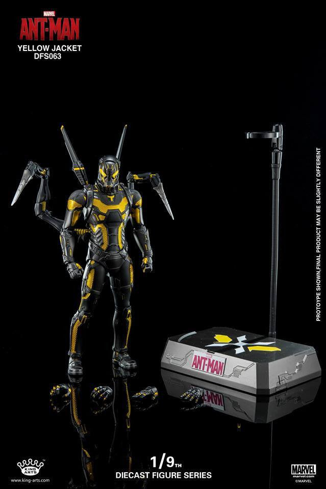 King Arts - DFS063 - Ant-Man - Yellow Jacket - Marvelous Toys - 12