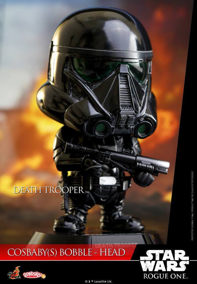 (IN STOCK) Hot Toys - COSB330 - Rogue One: A Star Wars Story - Death Trooper Cosbaby Bobble-Head - Marvelous Toys - 1