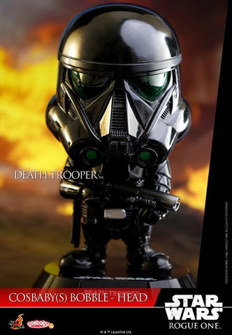(IN STOCK) Hot Toys - COSB330 - Rogue One: A Star Wars Story - Death Trooper Cosbaby Bobble-Head - Marvelous Toys - 2