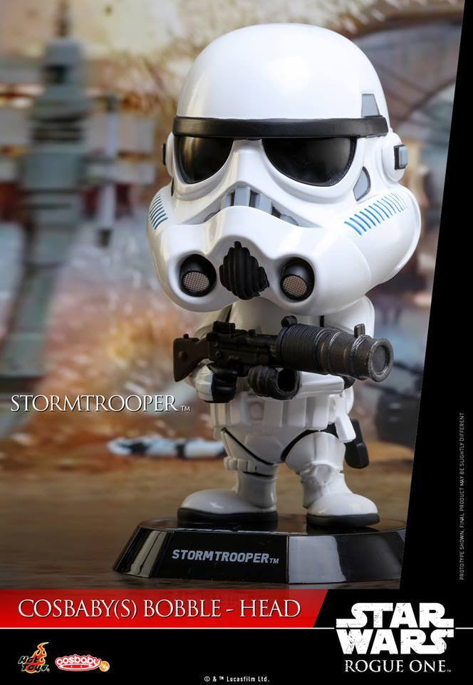 Hot Toys - COSB333 - Rogue One: A Star Wars Story - Stormtrooper Cosbaby Bobble-Head - Marvelous Toys - 1
