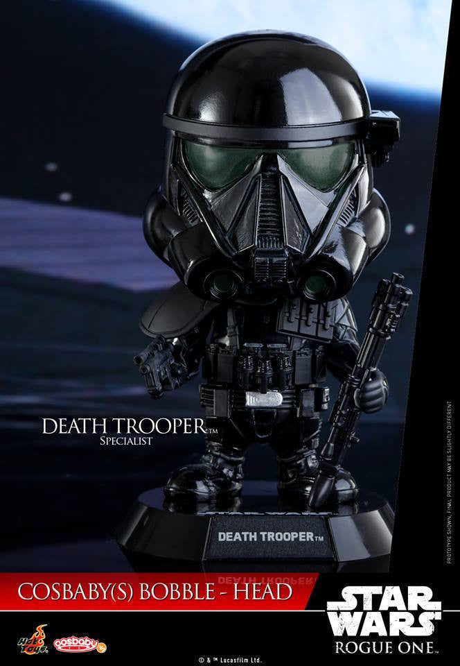 Hot Toys - COSB329 - Rogue One: A Star Wars Story - Death Trooper Specialist Cosbaby Bobble-Head - Marvelous Toys - 2