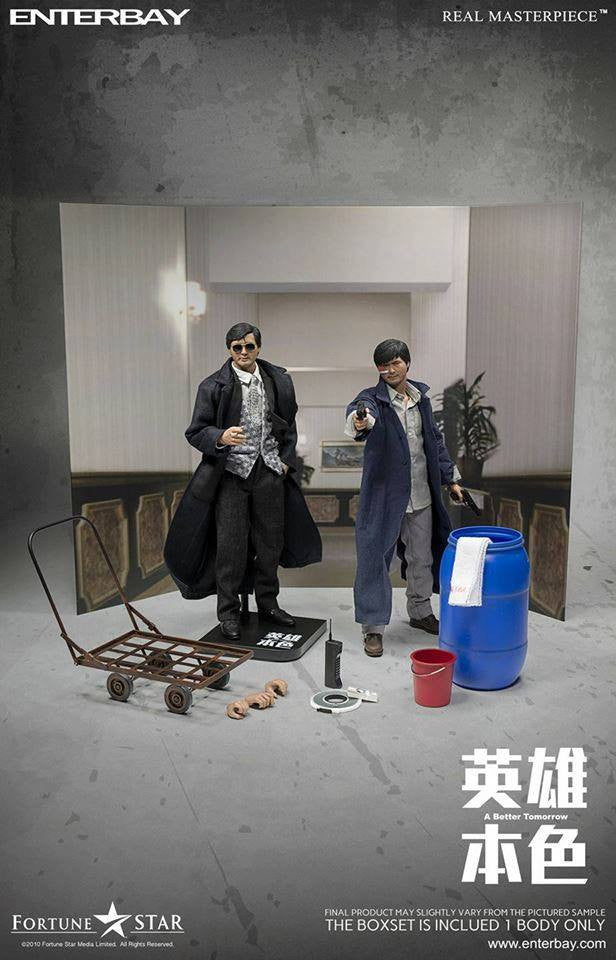 Enterbay - 1/6 A Better Tomorrow 英雄本色 - Mark哥 (Chow Yun Fatt/周润发) - Marvelous Toys - 9