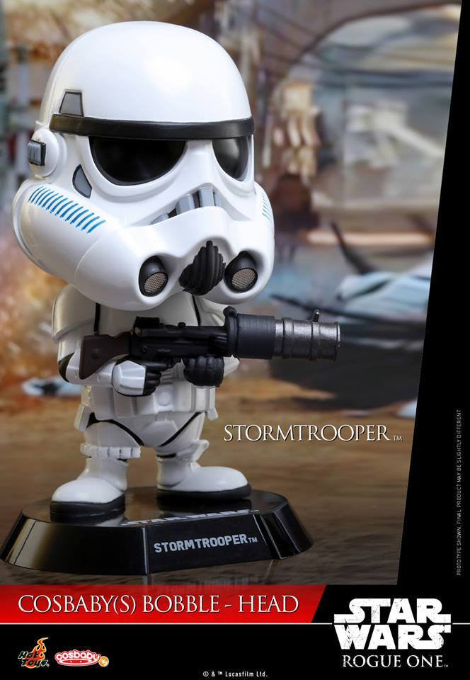 Hot Toys - COSB333 - Rogue One: A Star Wars Story - Stormtrooper Cosbaby Bobble-Head - Marvelous Toys - 2
