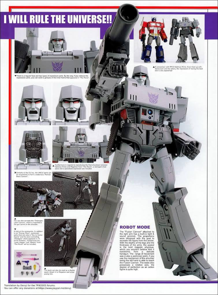 TakaraTomy - Transformers Masterpiece - MP-36 - Megatron - Marvelous Toys - 10