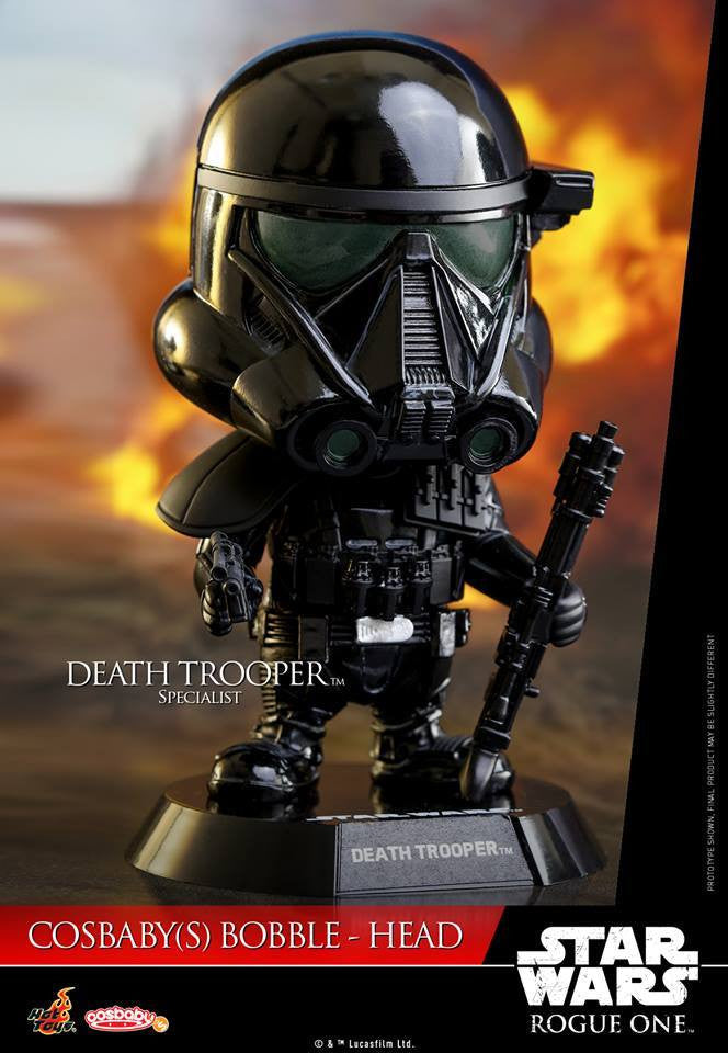 (IN STOCK) Hot Toys - COSB335 - Rogue One: A Star Wars Story - Cosbaby Bobble-Head (Series 1) Set of 6 - Marvelous Toys - 12