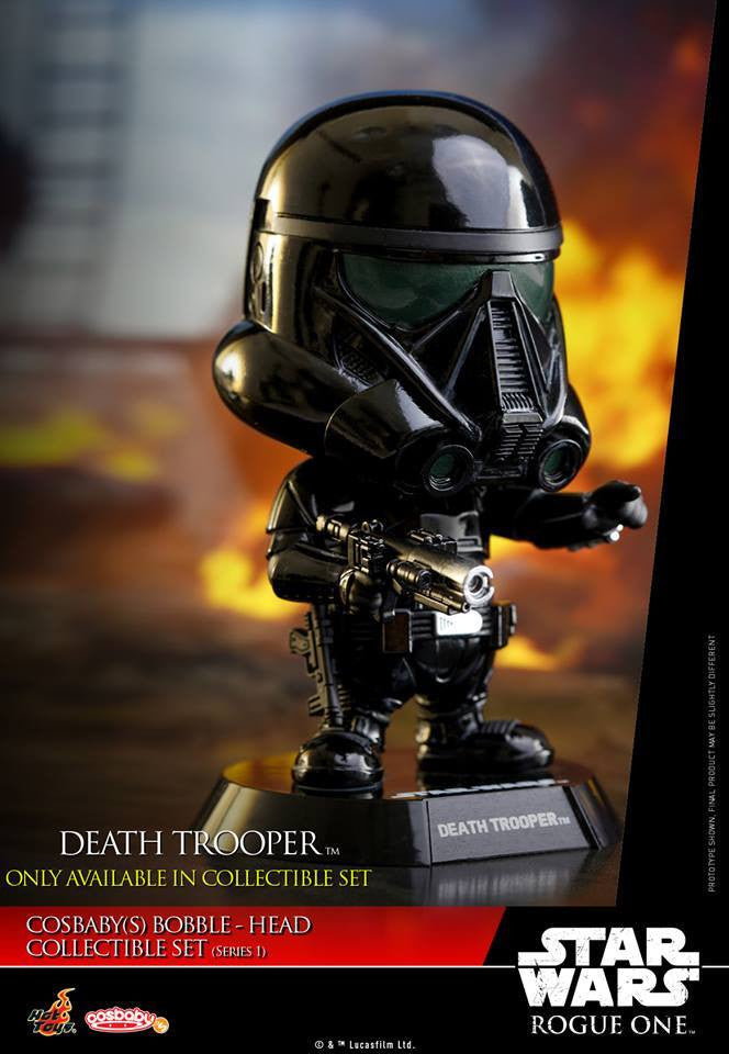 (IN STOCK) Hot Toys - COSB335 - Rogue One: A Star Wars Story - Cosbaby Bobble-Head (Series 1) Set of 6 - Marvelous Toys - 13