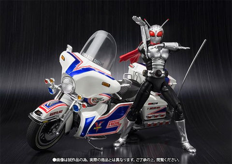 S.H.Figuarts - Masked Rider - Masked Rider Super 1 & V-Machine Set (TamashiiWeb Exclusive) - Marvelous Toys - 1