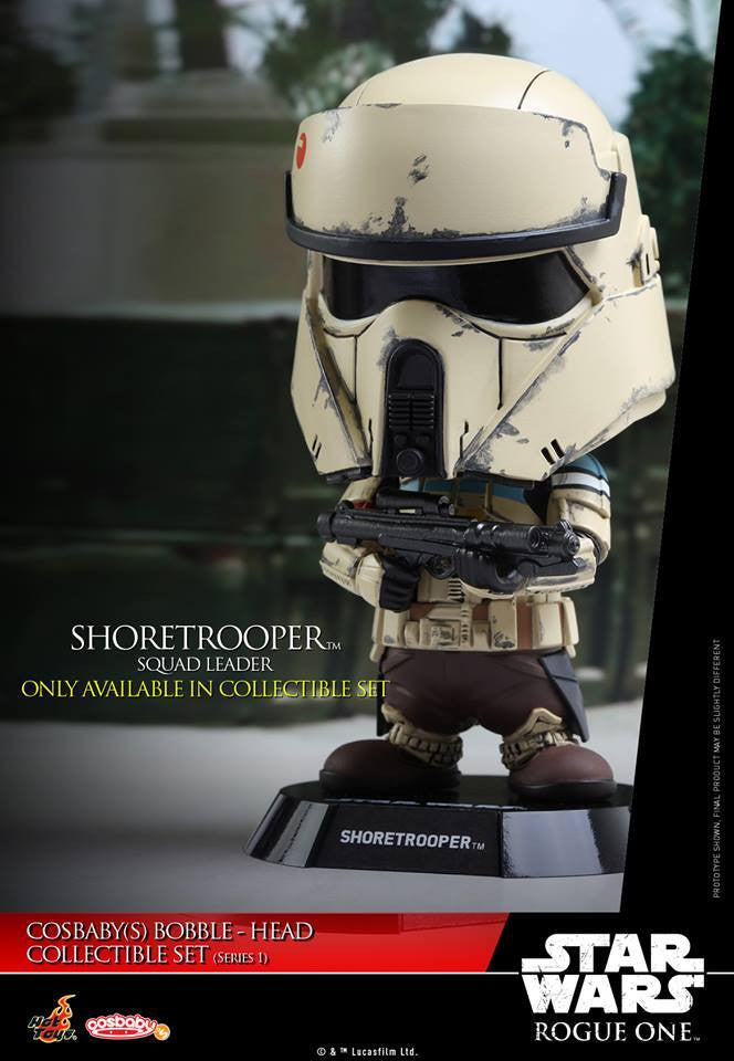 (IN STOCK) Hot Toys - COSB335 - Rogue One: A Star Wars Story - Cosbaby Bobble-Head (Series 1) Set of 6 - Marvelous Toys - 19