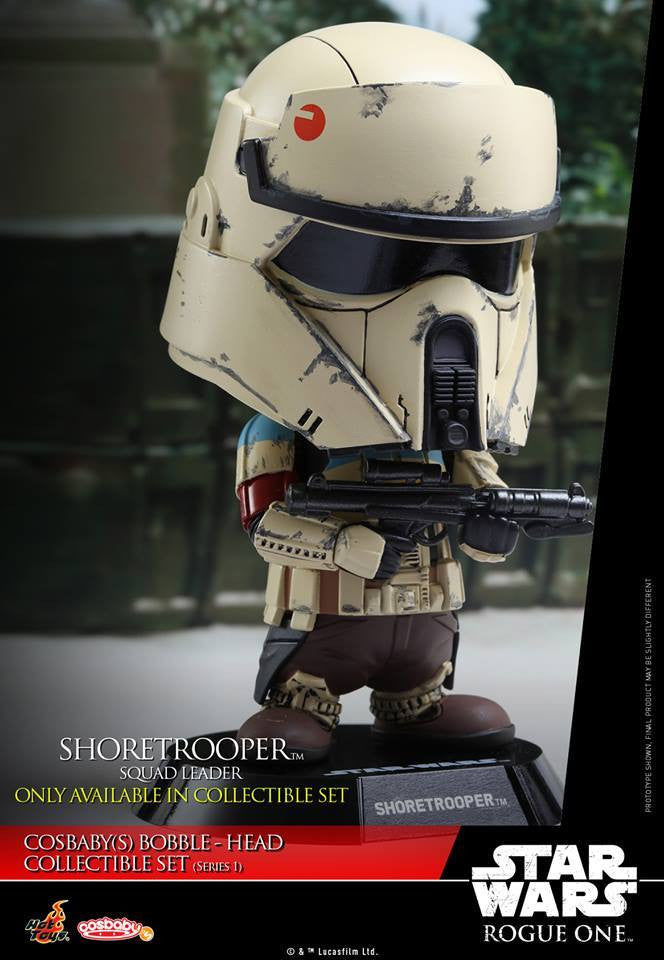 (IN STOCK) Hot Toys - COSB335 - Rogue One: A Star Wars Story - Cosbaby Bobble-Head (Series 1) Set of 6 - Marvelous Toys - 20