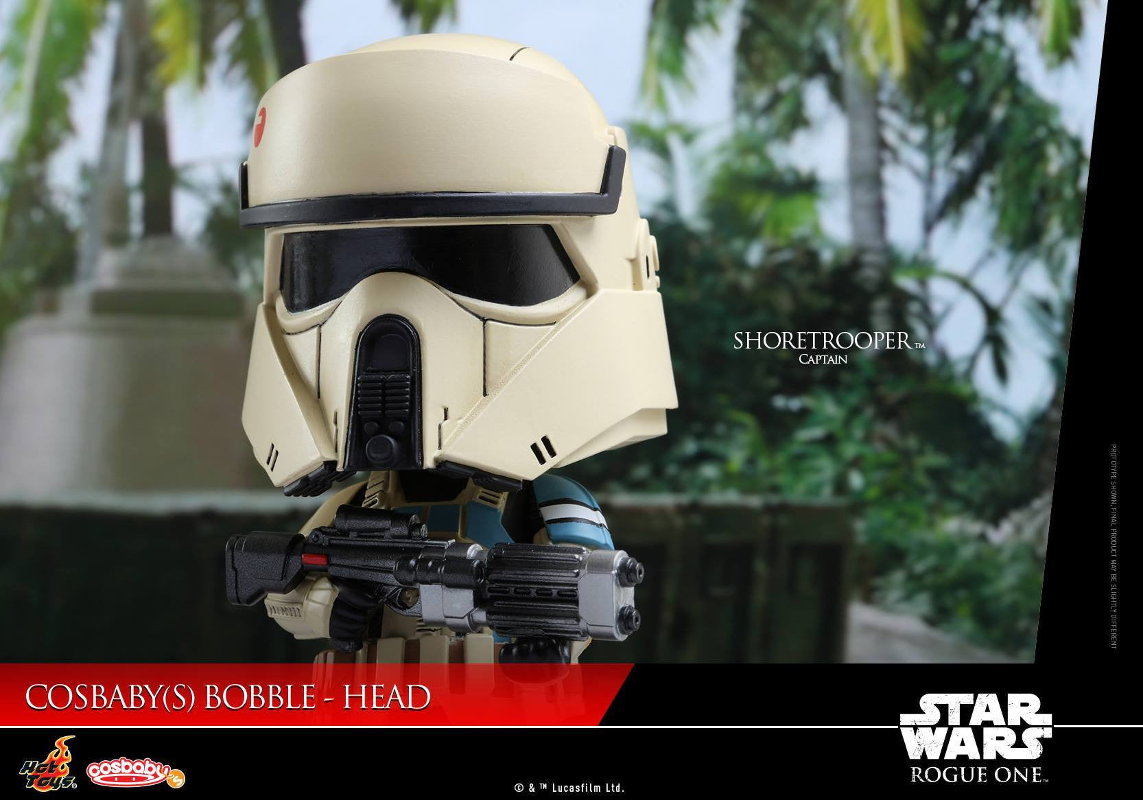Hot Toys - COSB332 - Rogue One: A Star Wars Story - Shoretrooper Captain Cosbaby Bobble-Head - Marvelous Toys - 4