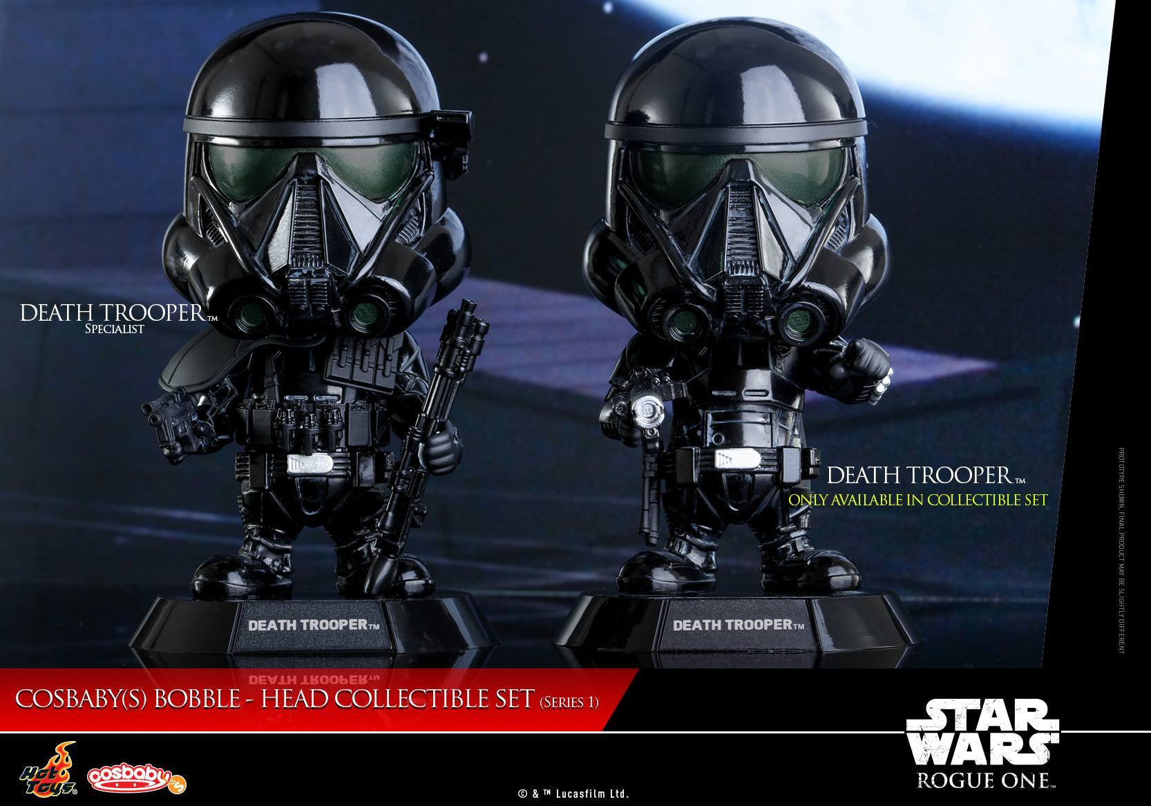 (IN STOCK) Hot Toys - COSB335 - Rogue One: A Star Wars Story - Cosbaby Bobble-Head (Series 1) Set of 6 - Marvelous Toys - 8