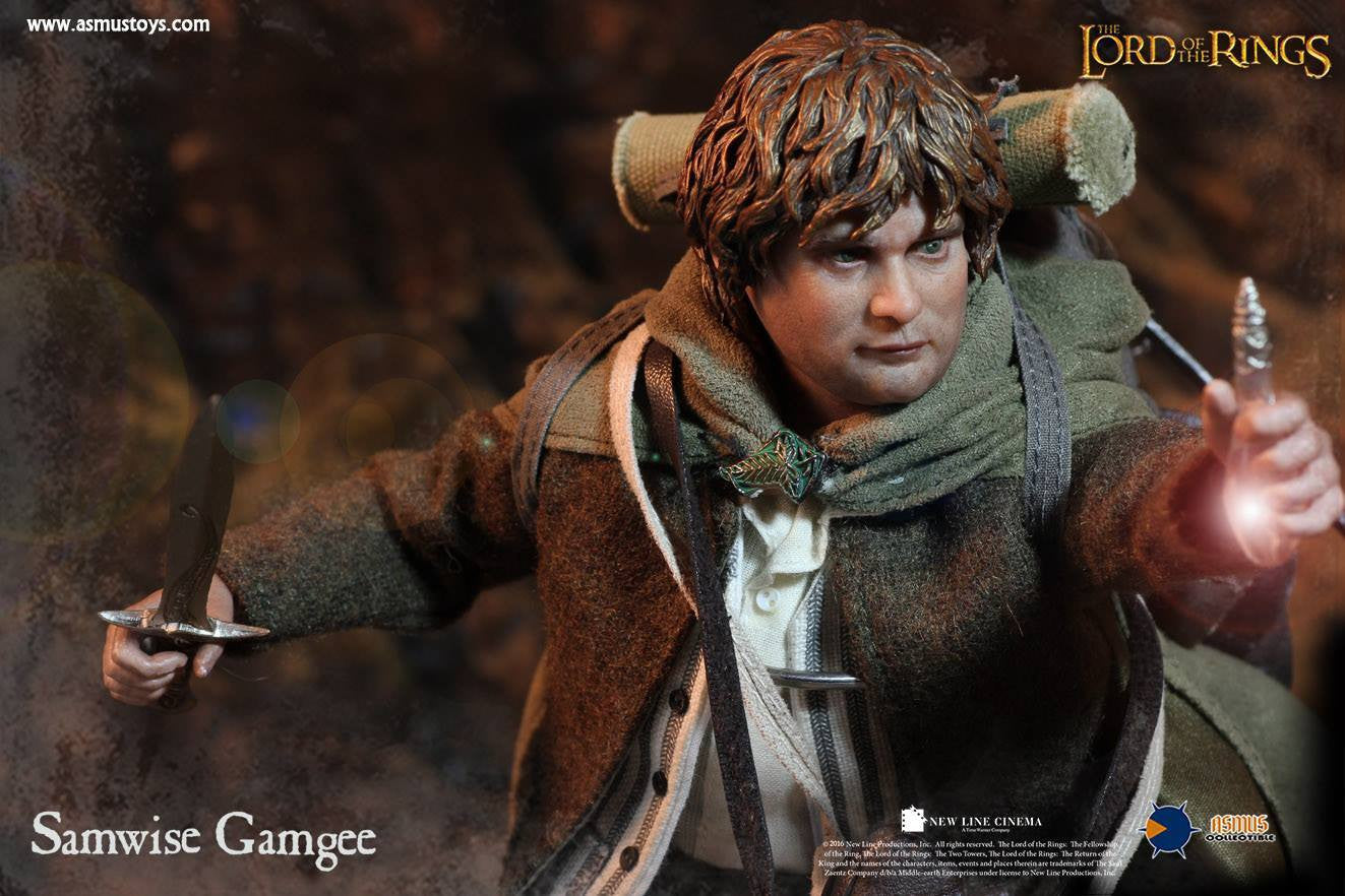 Asmus Toys - LOTR014 & 015 - Lord of the Rings - Heroes of Middle-Earth - Frodo & Sam - Marvelous Toys - 3