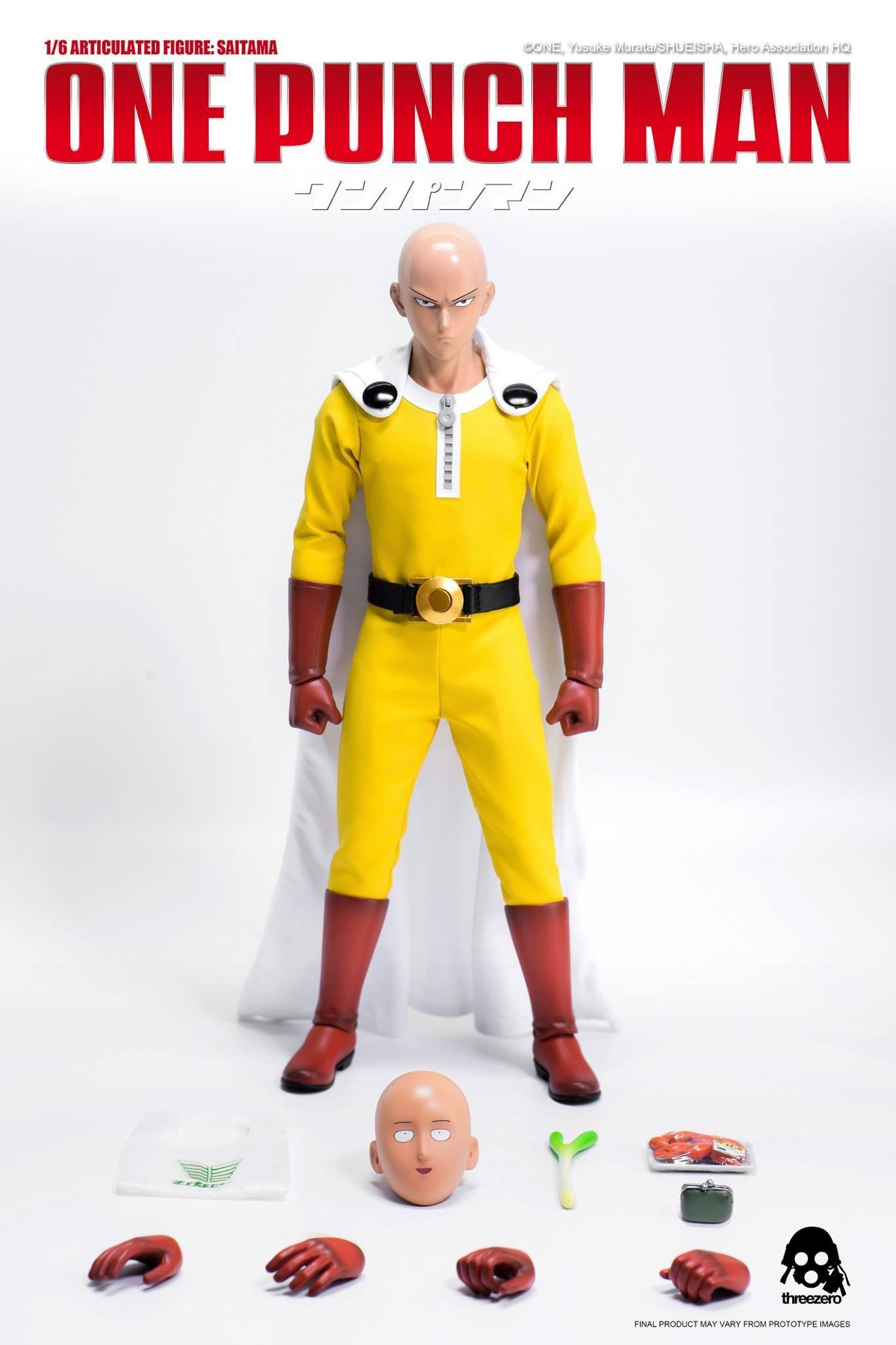 ThreeZero - One-Punch Man - Saitama - Marvelous Toys - 7