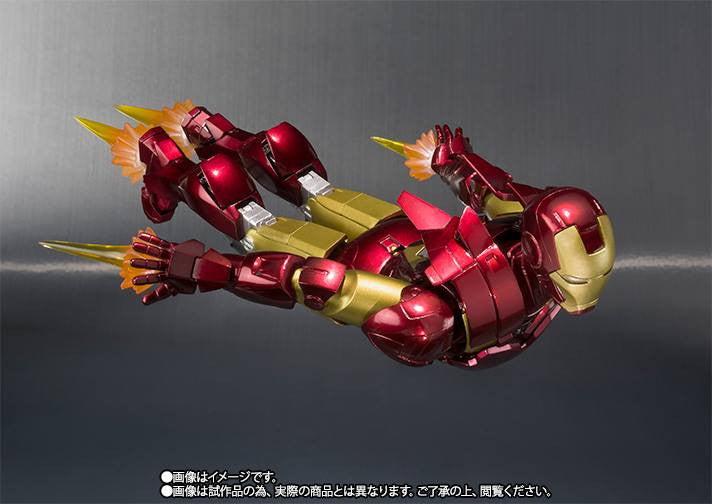 S.H.Figuarts - Iron Man - Iron Man Mark VI (6) (TamashiiWeb Exclusive) - Marvelous Toys - 4