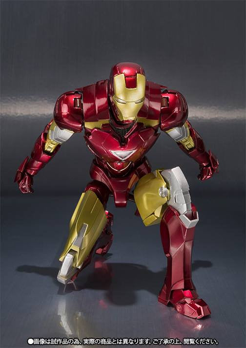 S.H.Figuarts - Iron Man - Iron Man Mark VI (6) (TamashiiWeb Exclusive) - Marvelous Toys - 6