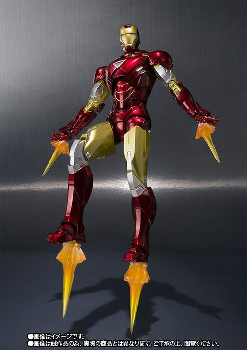 S.H.Figuarts - Iron Man - Iron Man Mark VI (6) (TamashiiWeb Exclusive) - Marvelous Toys - 7