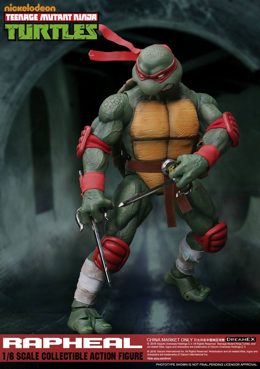 Dream EX - Teenage Mutant Ninja Turtles - Raphael (1/6 Scale) (Reissue)