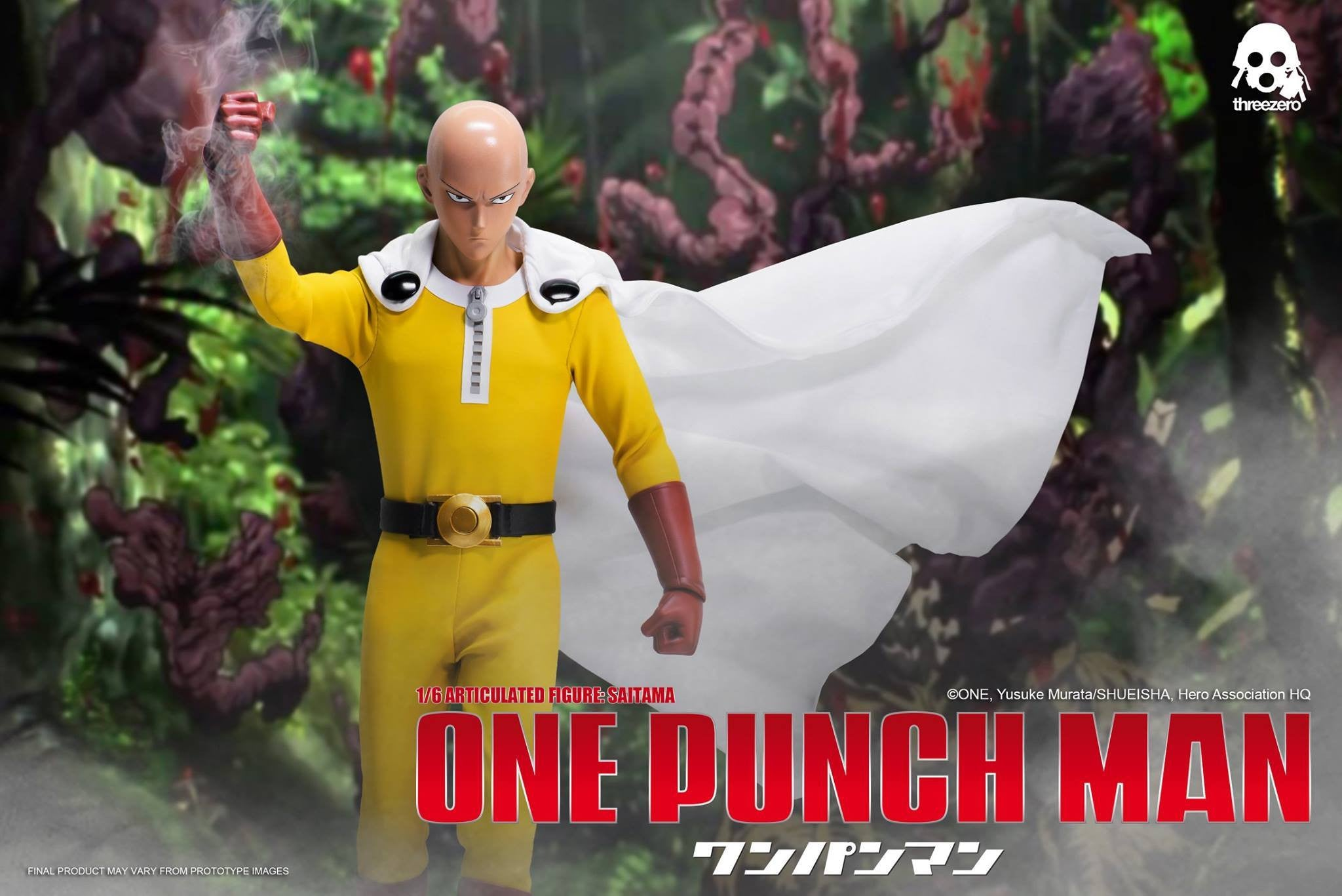ThreeZero - One-Punch Man - Saitama - Marvelous Toys - 8