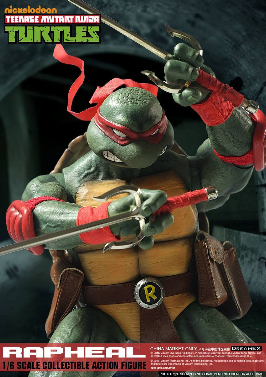 Dream EX - Teenage Mutant Ninja Turtles - 1/6 Scale Raphael - Marvelous Toys - 8