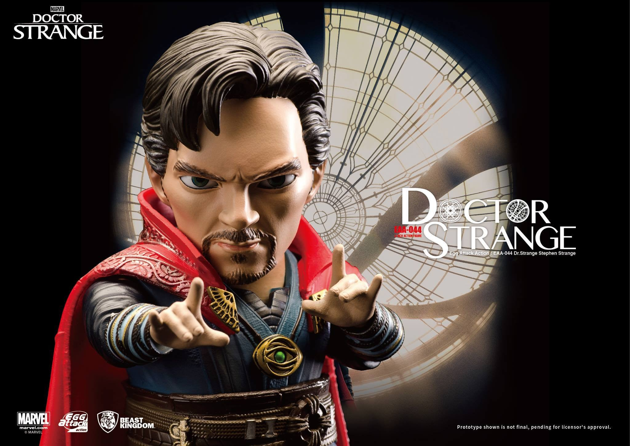 Egg Attack Action - EAA-044 - Doctor Strange - Stephen Strange - Marvelous Toys - 5