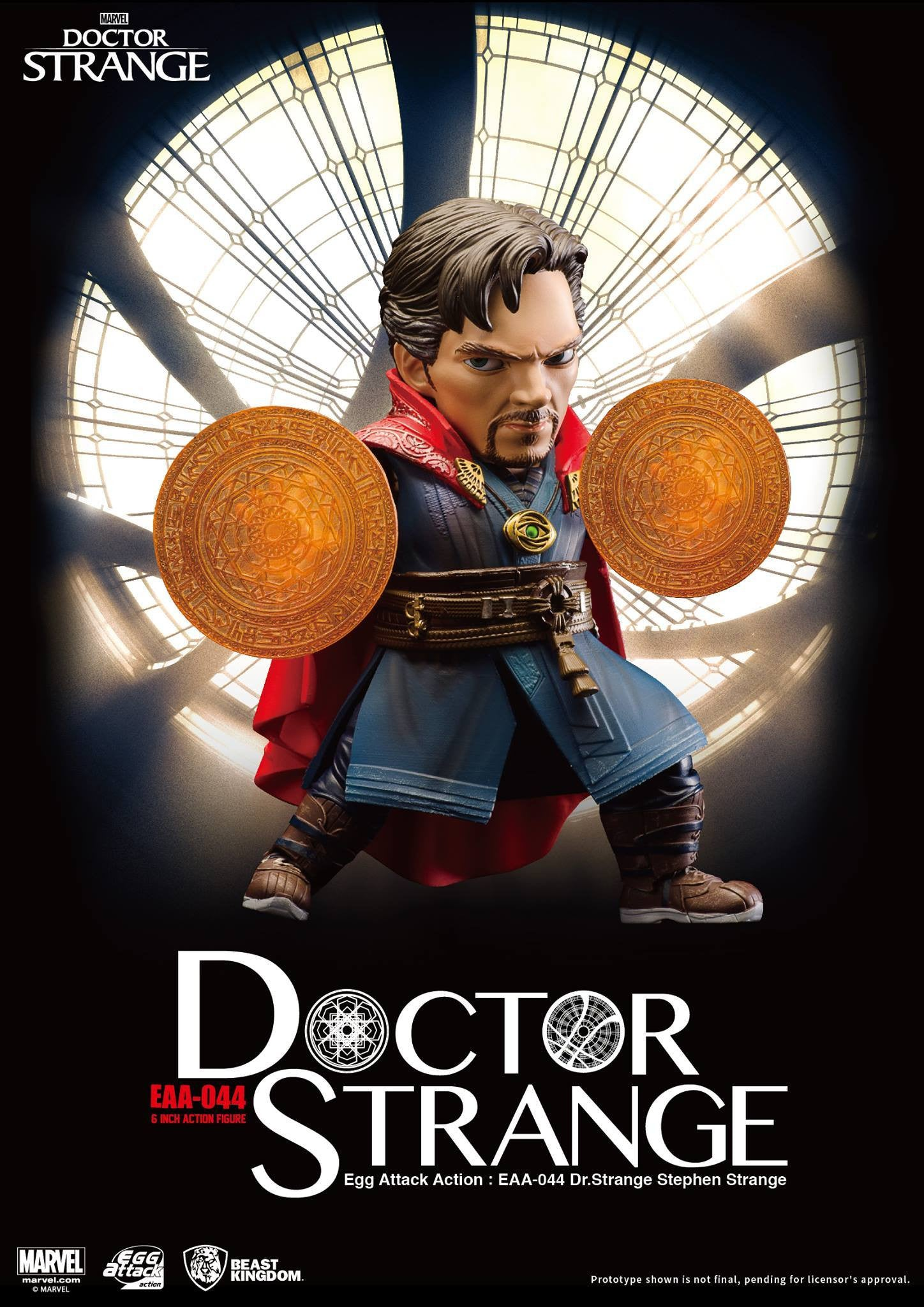 Egg Attack Action - EAA-044 - Doctor Strange - Stephen Strange - Marvelous Toys - 6