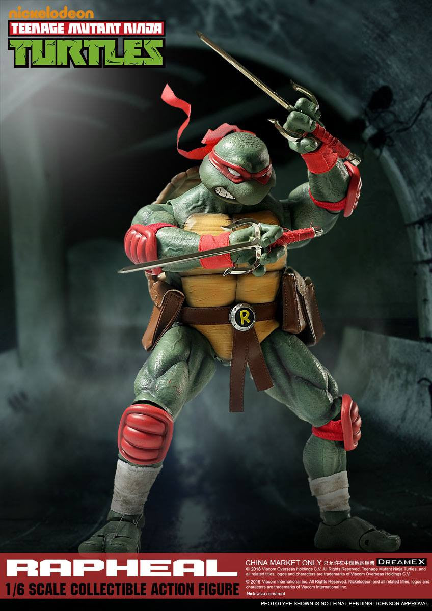 Dream EX - Teenage Mutant Ninja Turtles - 1/6 Scale Raphael - Marvelous Toys - 1