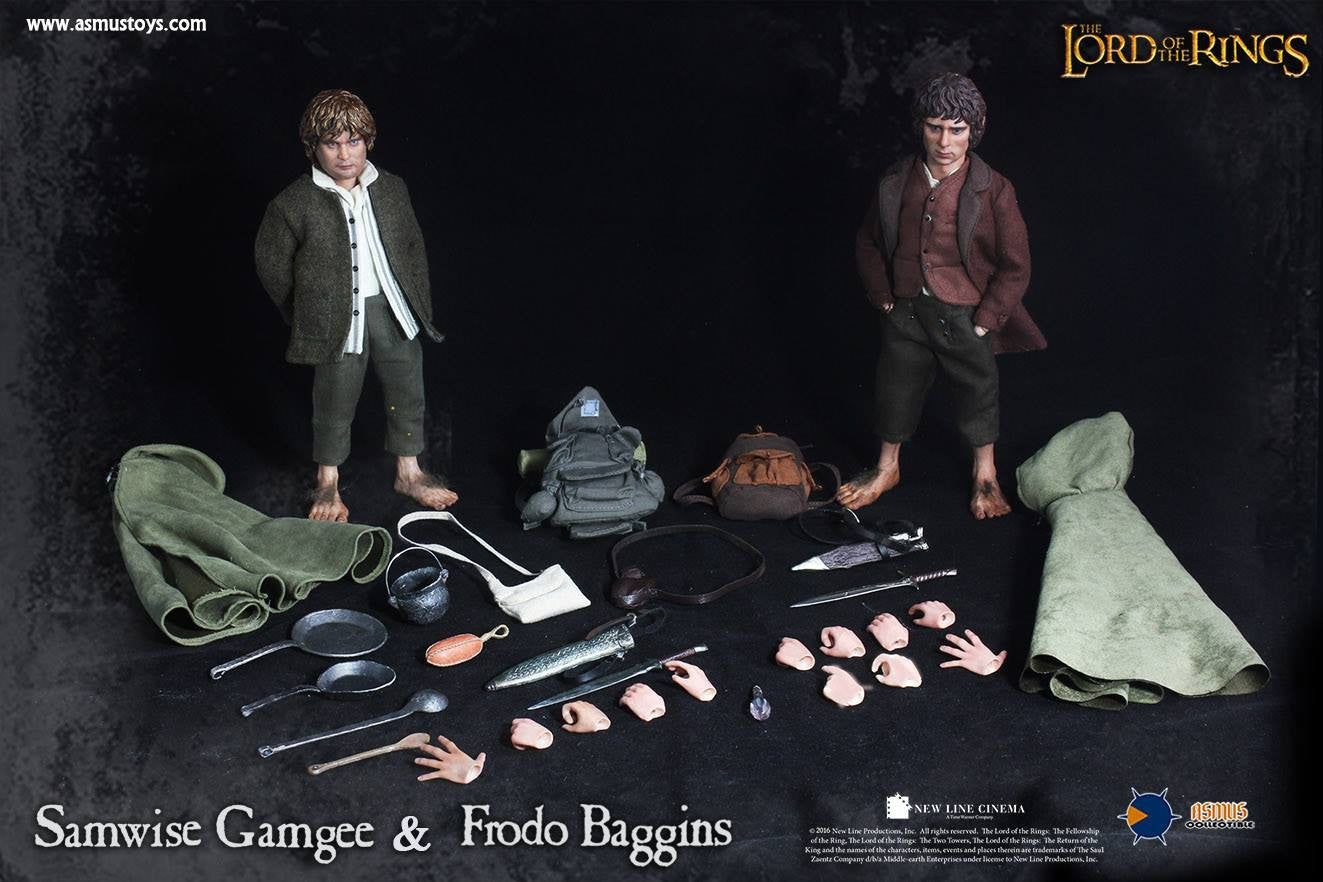 Asmus Toys - LOTR014 & 015 - Lord of the Rings - Heroes of Middle-Earth - Frodo & Sam - Marvelous Toys - 13